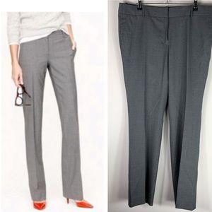 J. Crew Super 120s Wool Campbell Trouser Pants